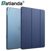 New Color Navy Matte Back Cover Microfiber PU Leather Case For IPad 9 7 INCH 2017