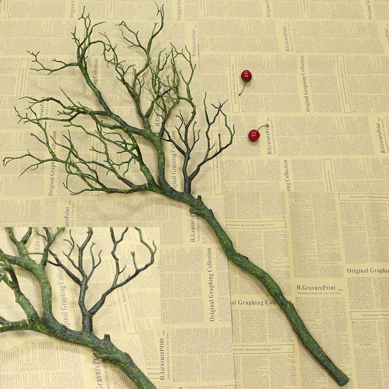 Flone Искусственные цветы Коралловая ветвь искусственный цветок имитация букет растение большая ветка дерева Свадебные вечерние украшения для дома - Цвет: B