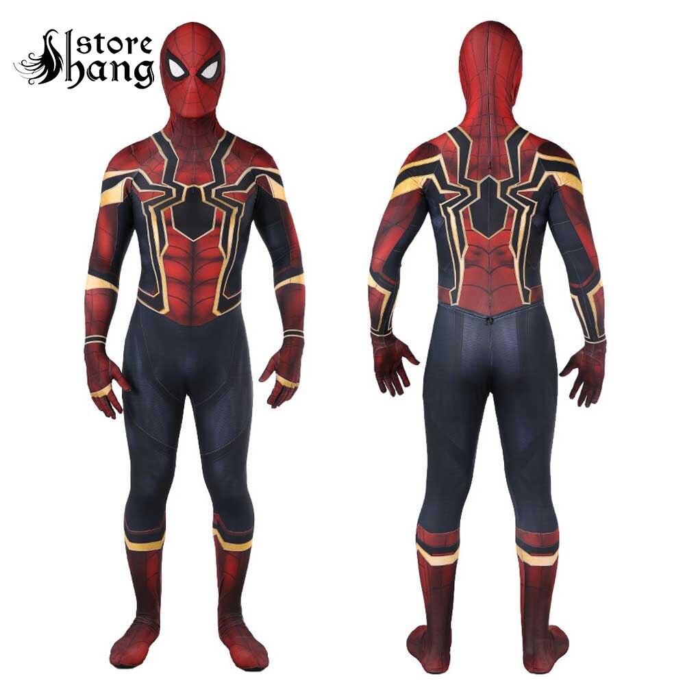 2018 Neue Spiderman Kostum Kinder Erwachsene Avenger Unendlichkeit