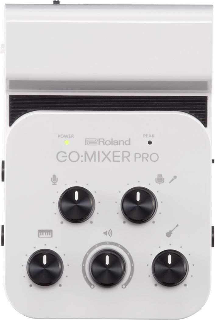 Roland GO: MIXER PRO Audio Mixer di Linea (Batteria, USB) per Smartphone (GOMIXERPRO)Roland GO: MIXER PRO Audio Mixer di Linea (Batteria, USB) per Smartphone (GOMIXERPRO)