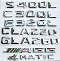 Auto car 4Matic 4 Matic for Mercede Rear Emblem Decal Badge Sticker A 220 817 08 15 AAA Quality Free Shipping