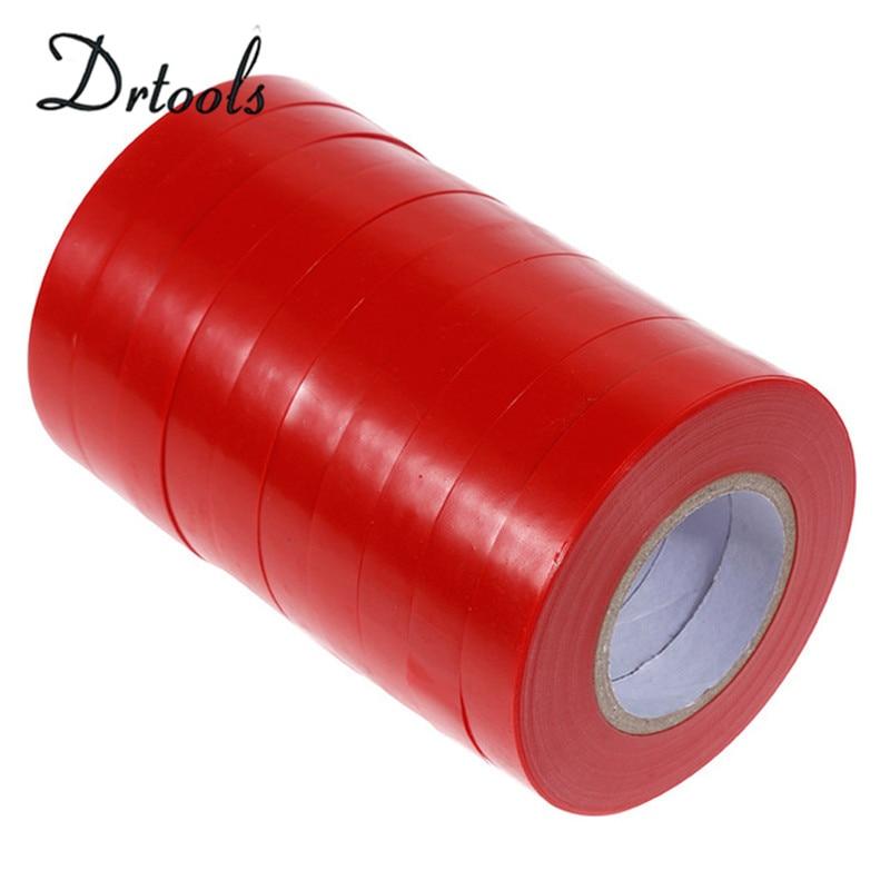 20pcs-pack Garden Tools Tree  Parafilm Secateurs Engraft Branch  Gardening Bind Belt PVC Tie Tape 1.1CM X 33M / 1 RolI  Jt002