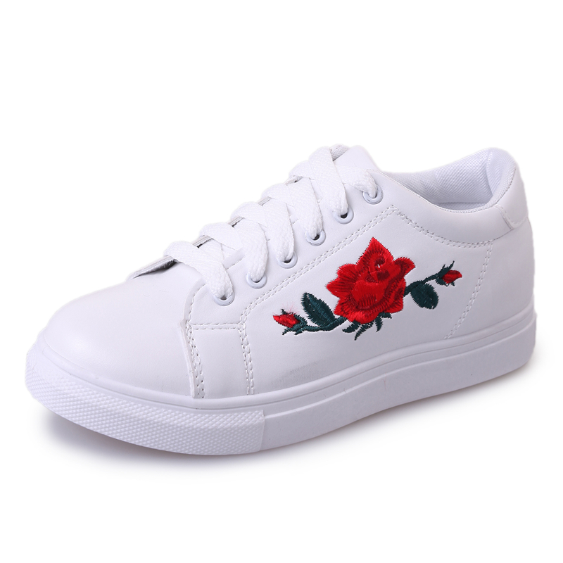 Aliexpress buy hand embroidery rose shoes woman