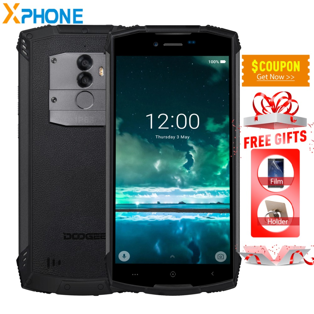 DOOGEE S55 Lite 2GB 16GB IP68 Waterproof 5 5 HD Cell Phone Android 8 1 Quad