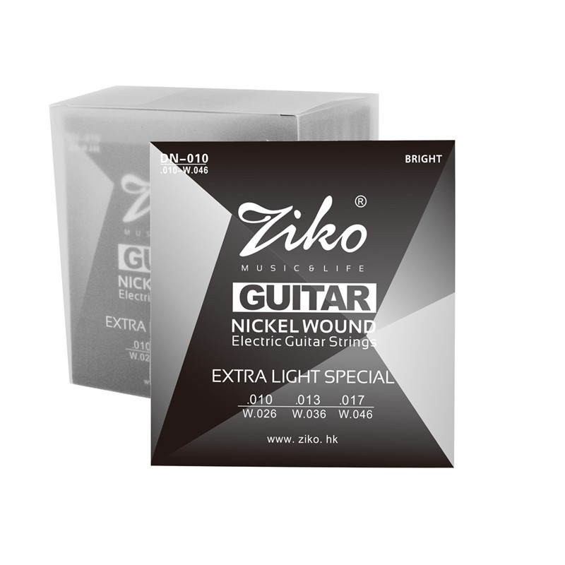 Ziko advanced electricity guitar strings 010 - 046 electric guitar set 1st-6th strings free shipping