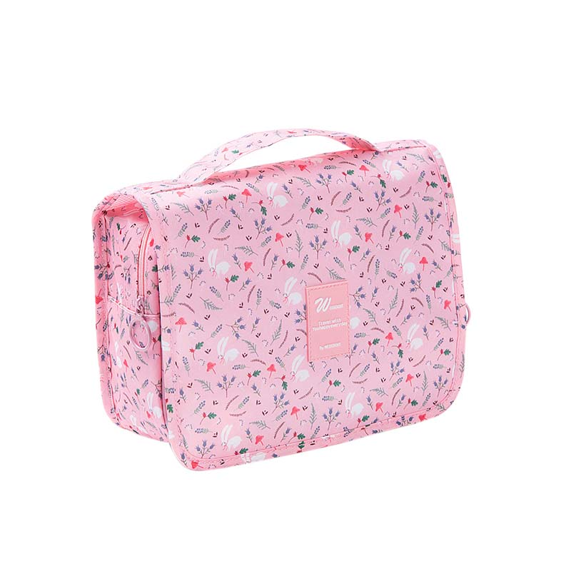 NIBESSER Cute Printed Cosmetic Bag Portable Beauty Pouch Make Up Makeup Organizers Kawaii Bag Travel Organizer Cosmetic Case