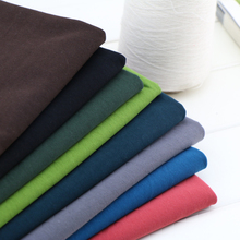 50*180cm cotton stretchy spring and summer cotton knitted fabric moderate thickness fabric for T-shirts clothing fabrics