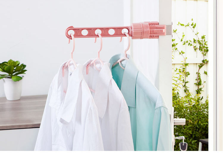 DIZHIGE Electric Clothes Drying Rack Portable Dryer Hanger Folding Travel Laundry Shoes