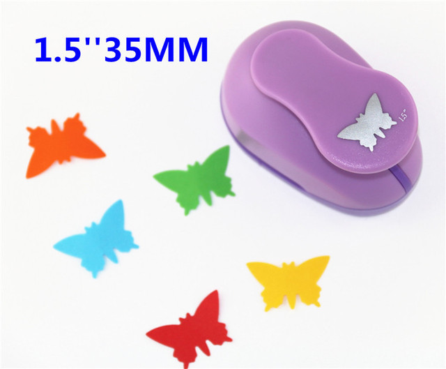Free Ship Butterfly 15 35mm Scrapbooking Punches Hole Punch