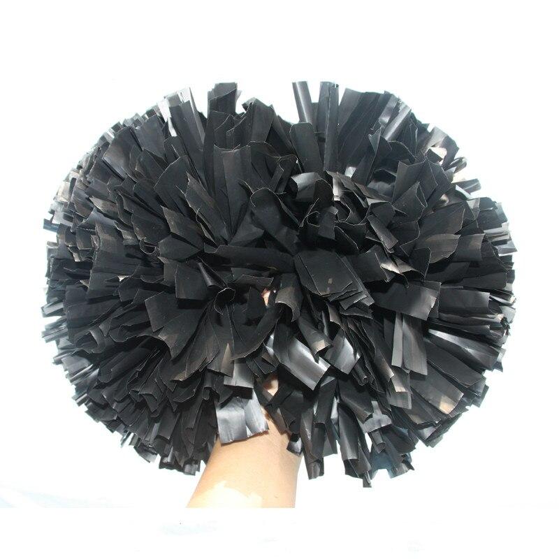 10 шт. помпон для Черлидинга Пластик черный 1000*3/4 в ширину ленты