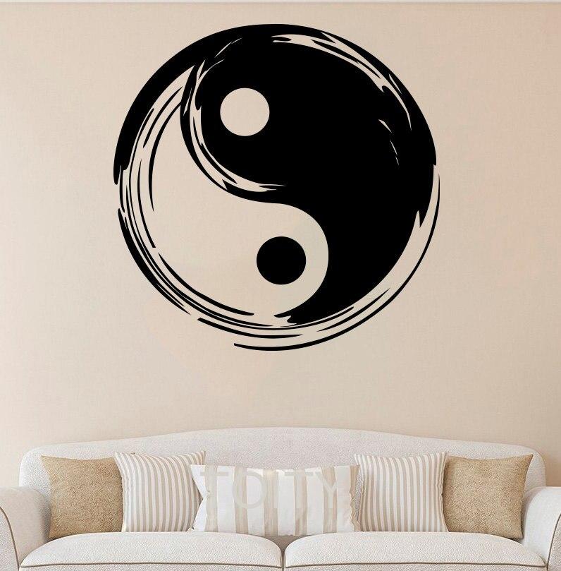 Int rieur design symbole achetez des lots petit prix for Chambre yin yang