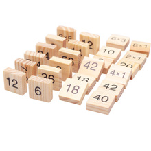 Educational Mathematic Wooden Montessori Game
