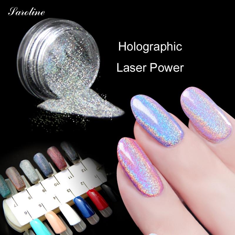 Holographic nail Polvos de maquillaje espejo Polvos de maquillaje ...