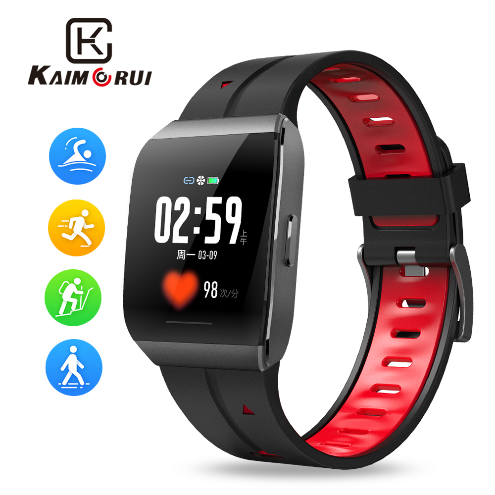 Smart Watch X1 Mens IP68 Waterproof Heart Rate Smartwatches Bluetooth Fitness Tracker Watch for Android IOS