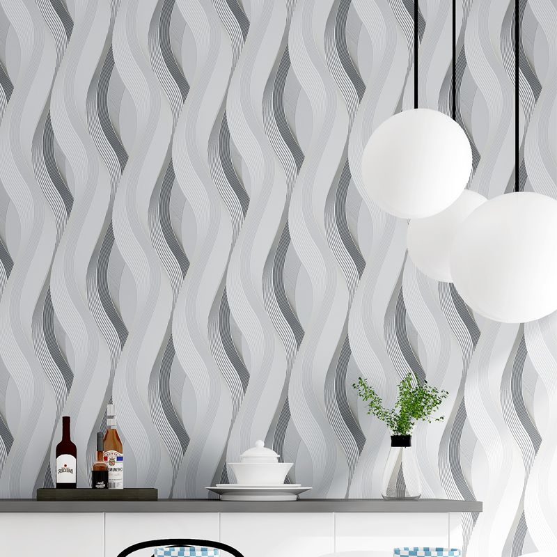 Modern Personality Curve 3D Stereo Embossed Wallpaper KTV Hotel Clothing Store TV Backdrop PVC Vinyl Wall Papers Papel De Parede modern character dancing 3d embossed vinyl wallpaper entertainmet ktv hotel bar background mural wall paper art papel de parede