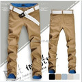2015 special han edition men's fashion men's casual pants Straight long pants Multicolor optional