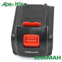 ApexWay Rechargeable Cordless Tool Battery for Black/Decker LHT120 LPHT120 LSW120 LPP120 LCS120 LLP120 LGC120 SSL20SB 2 ASL186K