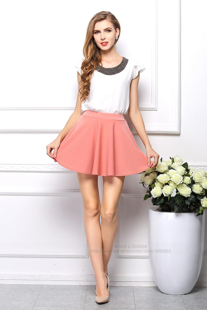 Pink Skirt Womens Fashion Skirts