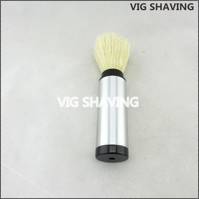 Natural Boar Bristle Travel Shaving Brush
