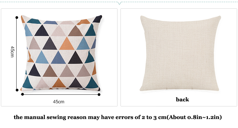 Islam Muslim Mandala Flower Halal Religion Belief Decorative Cushion Cover Linen Cushion For Sofa Car Throw Pillow Case 45x45 SA