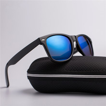 ZXRCYYL 2019 new unisex reflective vintage sunglasses men brand  designer fashion rivets sun glasses ladies Oculos de sol