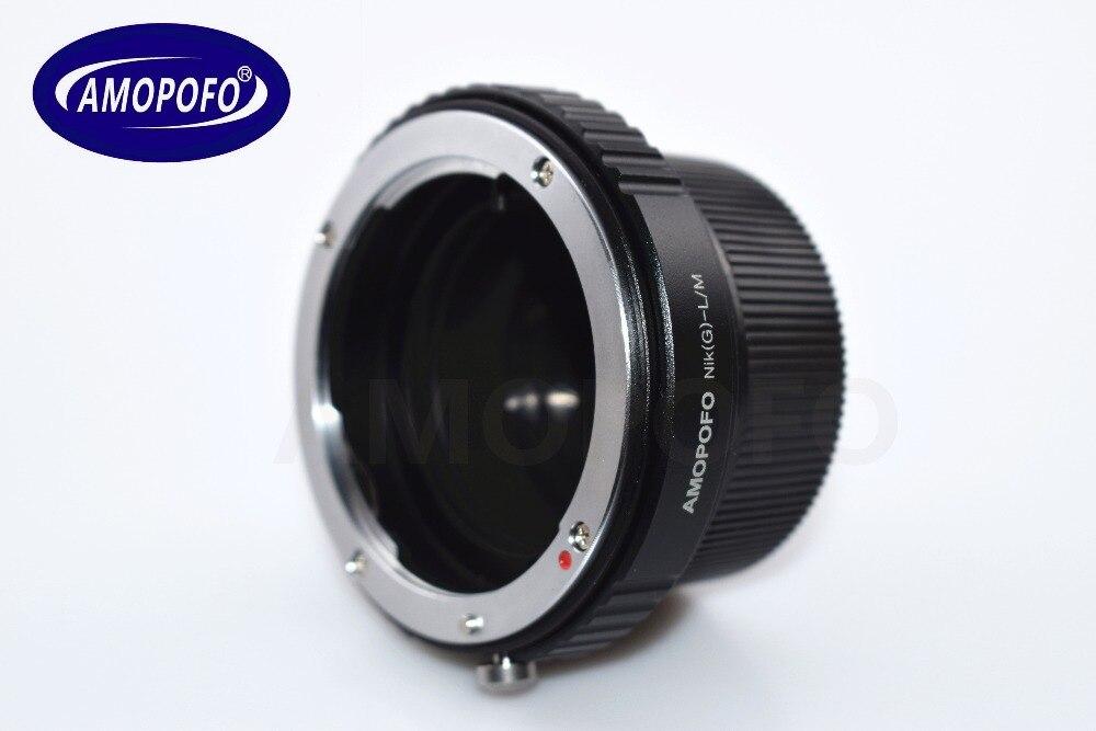 N / G-LM Adapter für Nikon G AI A F Objektiv auf Leica M L / M 9 M 8 - Kamera und Foto - Foto 5
