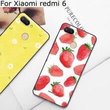 2PCS 5.45 For Xiaomi redmi 6 case Soft cases redmi6 cover cute cartoon phone red mi shell