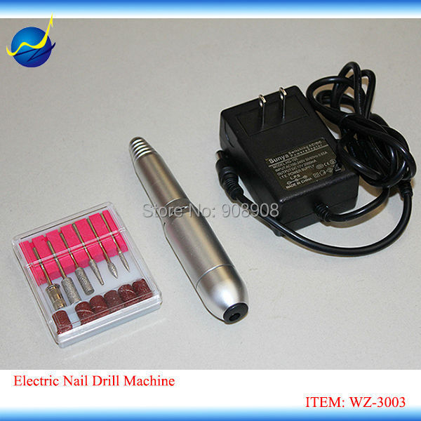 Portable Electric Nail Files Nail Art Drill Spas Beauty Parlors Machine Nail File Gel Milling ...