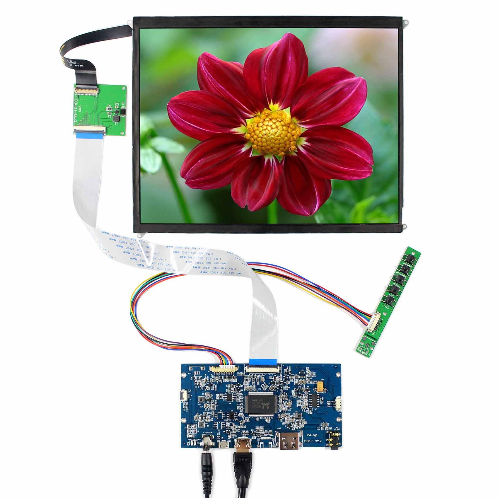 HDMI LCD Controller Board 9 7 2048x1536 LTL097QL01 HQ097QX1 LP097QX1 IPS LCD