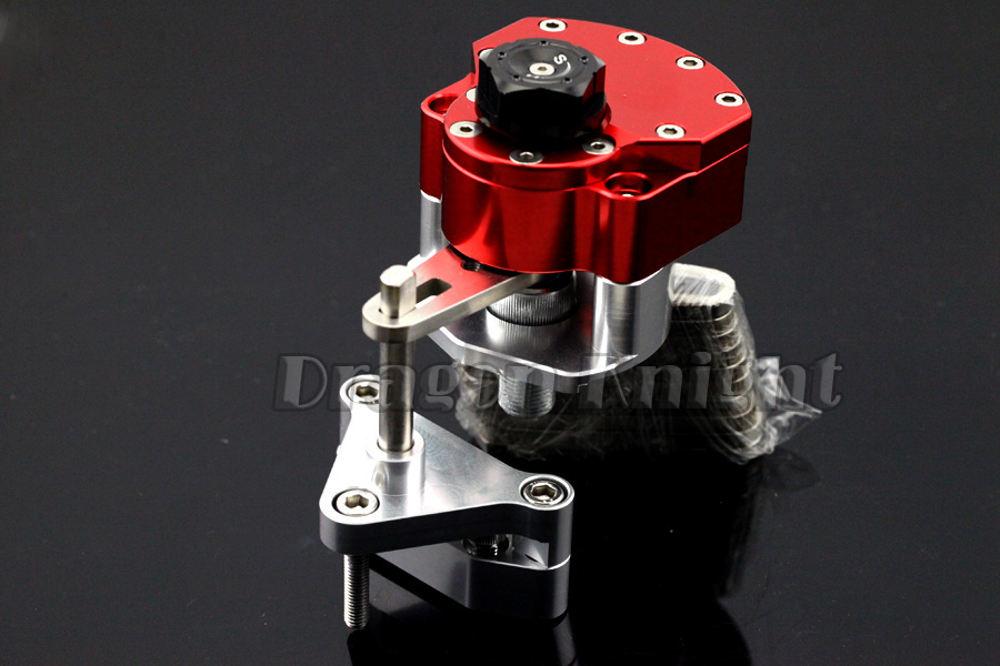Motorcycle Accessories For YAMAHA YZF R25/R3 YZF-R25 YZF-R3 2014-2015 Stabilizer Steering Damper with Mount Bracket Red