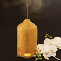 Humidifier Essential Oil Diffuser Diffuseur Aroma Diffuser Huile Essential Aroma Led Lamp Ultrasonic Nebulizer Solid Wood