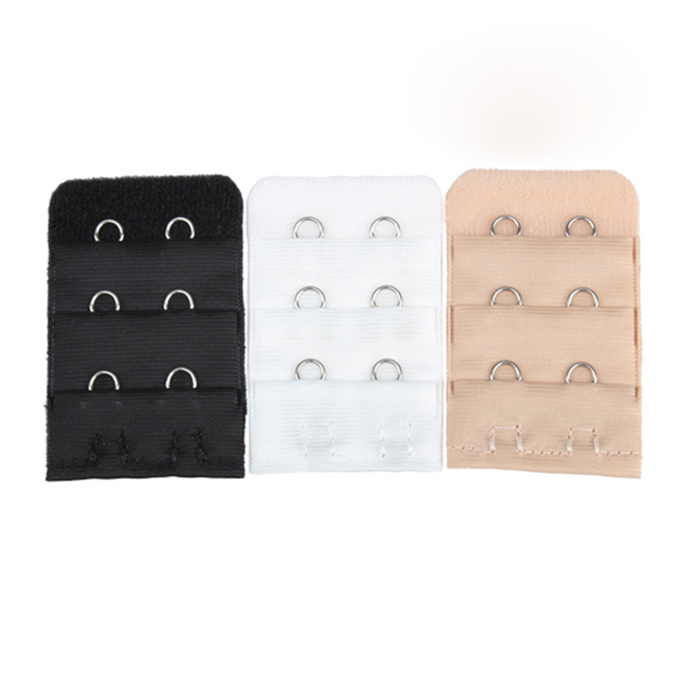 Newly 3 Pcs Bra Extension Strap Extender Replacement With 2 Hooks M99
