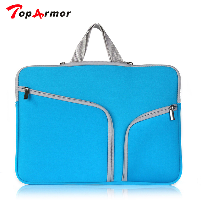 TopArmor New Laptop Bag case Laptop Sleeve for Macbook air pro pouch bag for Lenovo Dell Asus 11 12 13 14 15 15.6 inch bag