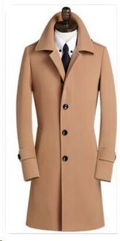 new arrival Woolen big thermal fashion men obese overcoat wool coat male plus siz S M L XL 2XL 3XL 4XL 5XL 6XL 7XL 8XL 9XL