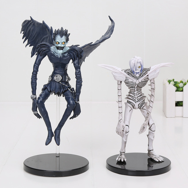 Death Note Deathnote Ryuk Ryuuku Rem 18cm-15cm Statue Figure Toy Loose New X'mas understanding death