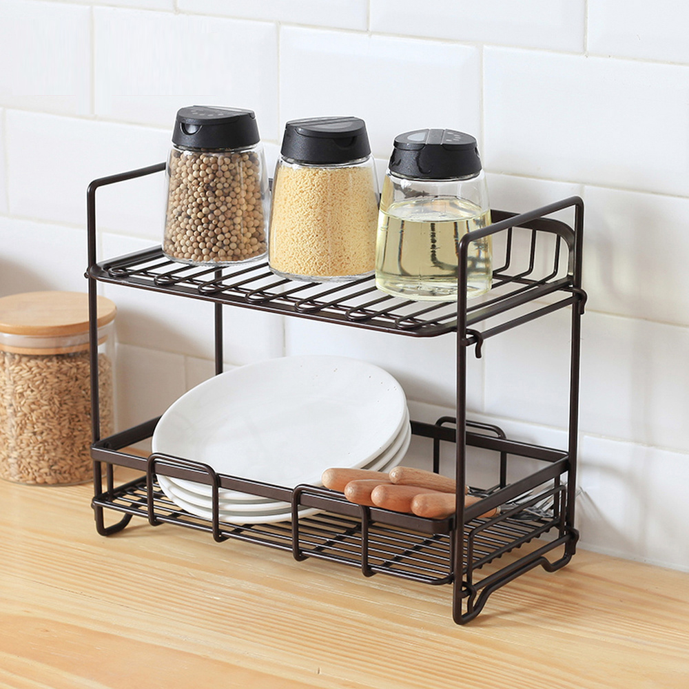 Storage Rack Floor Countertop Kitchen