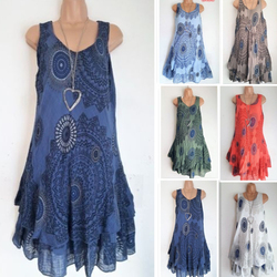 Podwójna warstwa Sukienka linia kaskadowe wzburzyć Sukienka w stylu Vintage Retro szata Kleid Plus rozmiar sukienki dla kobiet 4xl 5xl szata Femme ete 2019 2