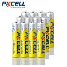 12 sztuk PKCELL NIMH AAA bateria 1.2V 3A 1200mah aaa ni mh akumulatory ponad 1000 cykli wysoka energia
