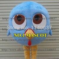 Maskottchen Blau Türkei Poult von Free Birds Maskottchen Kostüm (kann farbe ändern) Cartoon Charakter Karneval Cosply Maskottchen FREIES SCHIFF