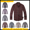 Free Shipping XS XXL European Size Long Sleeve Business Flannel Shirt For Men Winter Check Plaids