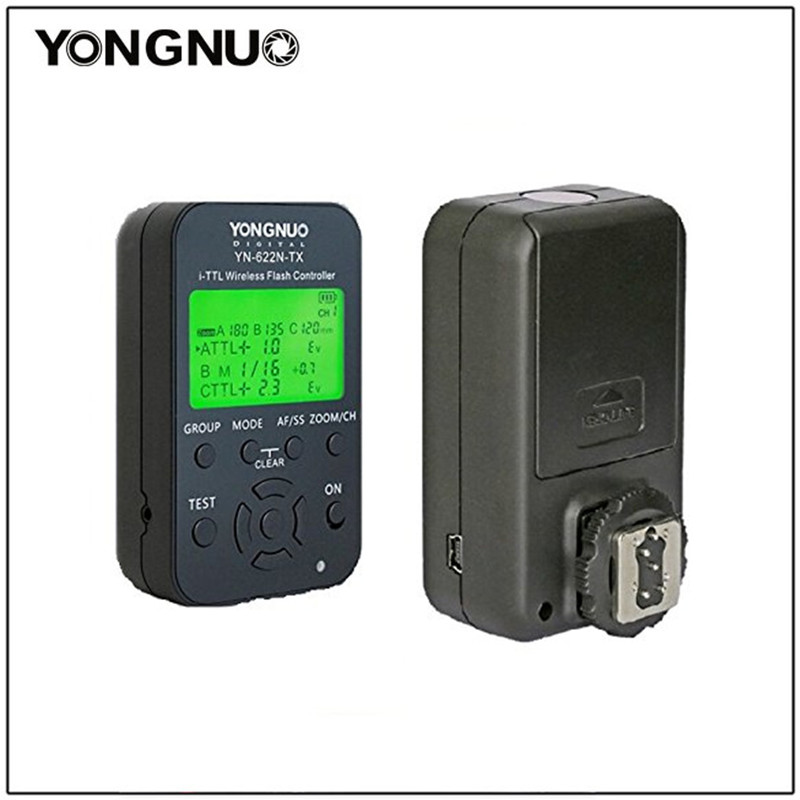 YONGNUO YN-622N KIT Transmitter Controller YN622N-KIT Transceiver Receiver Wireless i-TTL Flash Trigger Kit for Nikon YN968N