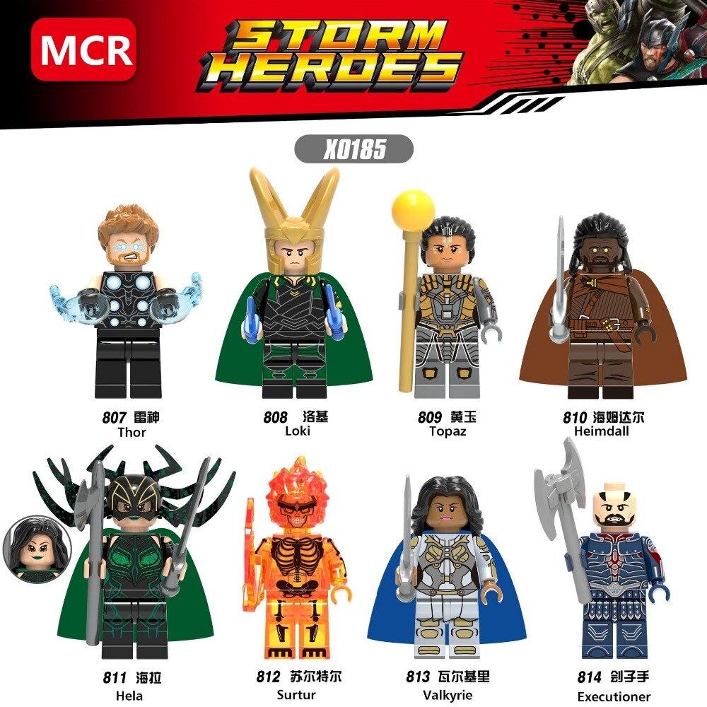 Hot 8pcs//lot Big Hero 6 series Mini Building Block Toy Figures Free Shipping