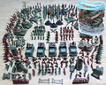 307Pcs/set WWll Military Figures Soldier Man Highquality PVC War Military Suit of Model Aircraft & Tanks & Missile Model Boy toy