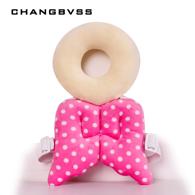 Cute Ring Wings Baby Harness Backpack Baby Head Protection Pad