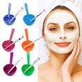 1 Unidades Nueva 4 in1 Maquillaje Facial de la Belleza DIY Recipiente Máscara Pincel Stick Conjunto de Herramientas