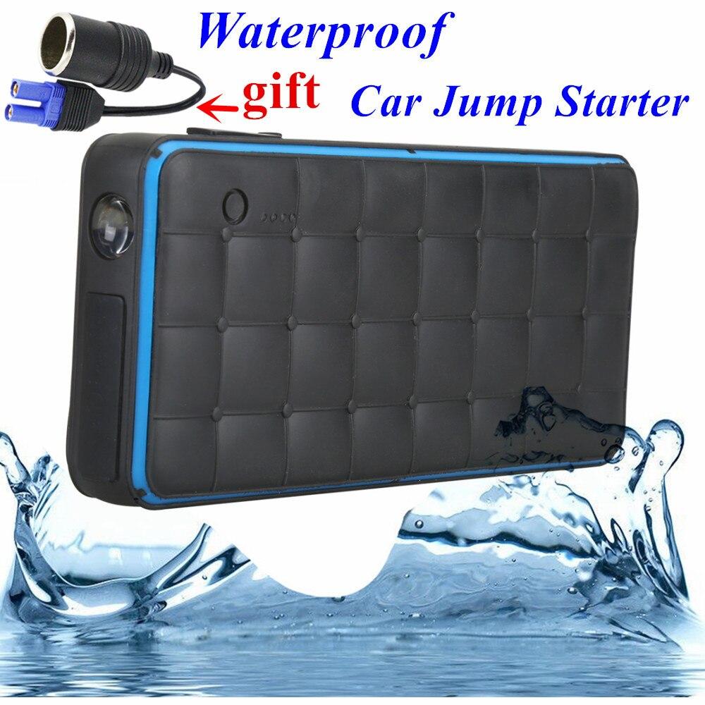Waterproof 1000A Peak Car Jump Starter Portable 28000mAh Starting Device Lighter Power Bank 12V Car Charger For Car <font><b>Battery</b></font> CE