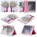 For Apple iPad mini 4 3 2 1 Colorful Tree PU Leather Stand Case Tablet Back Cover for Apple iPad air 3 2 1 iPad 2 3 4 5 6 Case #