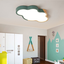 Modern living room lamps simple and warm Nordic creative personality led Macarons home master bedroom hall ceiling lamp