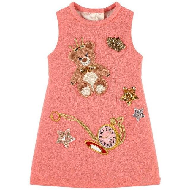 Милан творения новорожденных девочек платья детская одежда 2015 платье принцессы детская одежда Wisterial цветочные девушки летнее платье