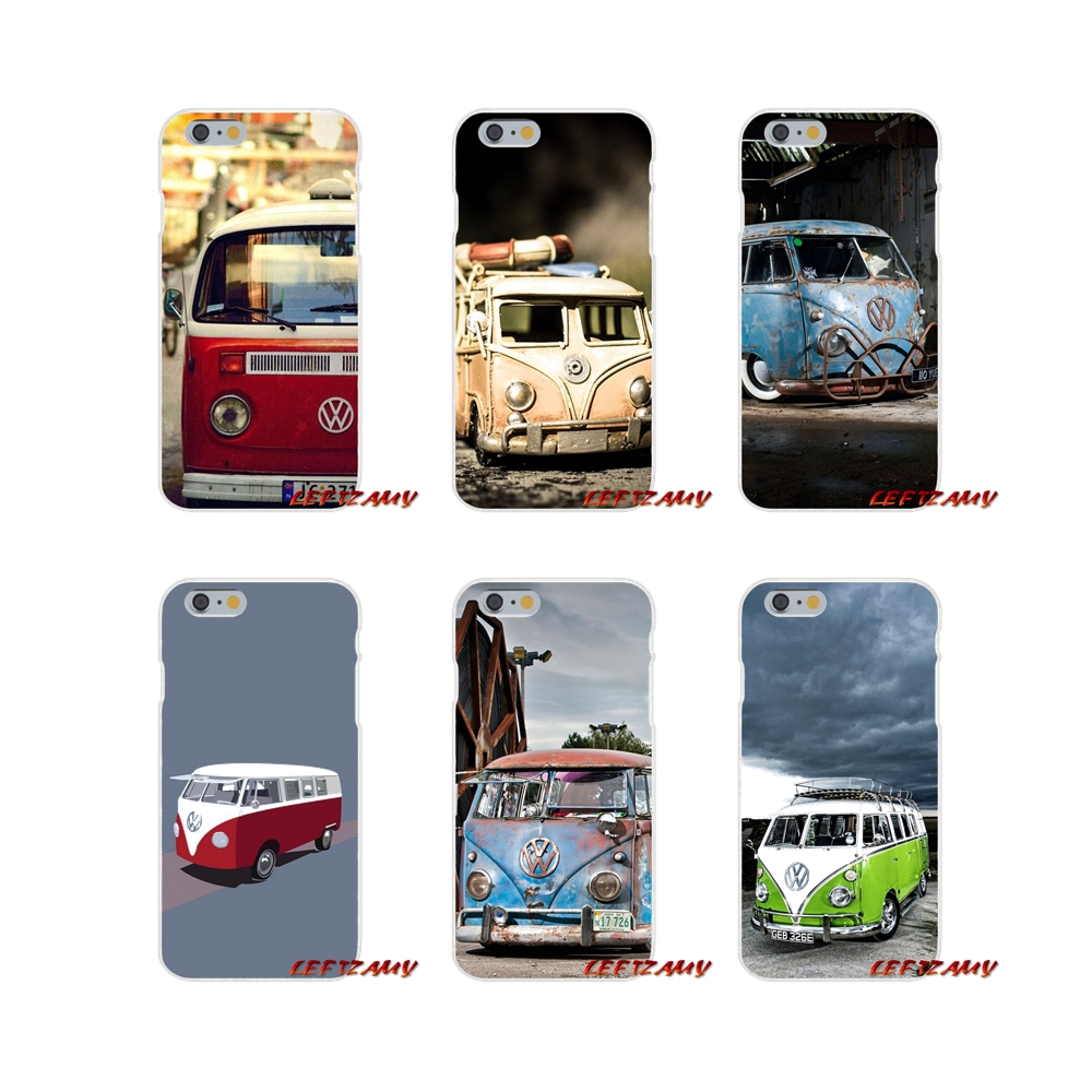 Accessories Phone Cases Covers For Samsung Galaxy A3 A5 A7 J1 J2 J3 J5 J7 2015 2016 2017 Funny VW Volkswagen Bus